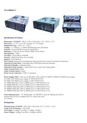 Fantec TCG-4800X47A-1 4U 528mm 400W ATX 3014 Leaflet