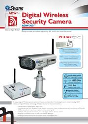 Swann ADW-300 SW233-ADW Leaflet