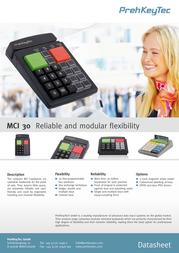 PrehKeyTec MCI 30 90328-006/1800 Leaflet
