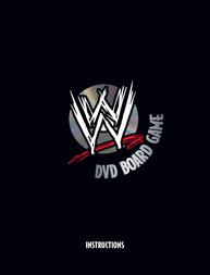 TAG Wrestling DVD Board Game User Manual