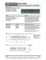 Dataram DRH1333R/8GB Leaflet