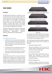 H3C S3600-28P-SI 0235A10G User Manual