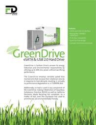 Fantom Drives GreenDrive 500GB GD500EU Leaflet