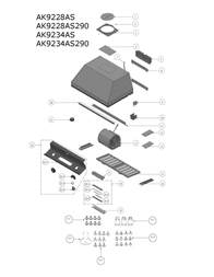 Zephyr AK9228AS Parts Catalog