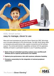 IGEL IGEL-1100 Legacy 62-1100S-128/LEGAC User Manual