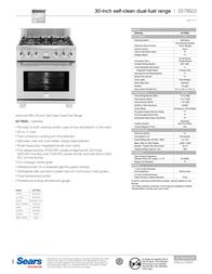 Kenmore Pro 30'' Warming Drawer Installation Guide