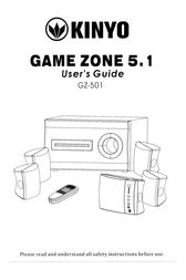 Kinyo GZ-501 User Manual