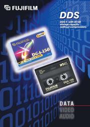 Fujifilm DDS-tape 4mm 125m 12GB 14435 Leaflet