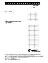 Mediola FS20 Wireless master slave transmitter 1-channel Max. range (open field) 100 m 1057-97 Data Sheet