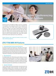 ZTE ZXV10T700-8MX-M Leaflet