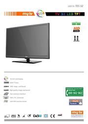 MyTV TES32 Leaflet