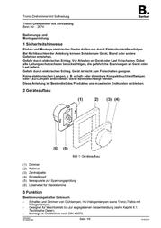 Berker Insert Dimmer K.5, K.1, Q.3, Q.1, S.1, B.7 Glass, B.3, B.1 2874 2874 Data Sheet