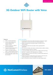 Netcomm NTC-30WV Product Datasheet