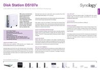Synology DS107e DS107E Leaflet