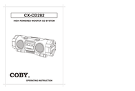 DeWALT COBY CX-CD282 User Manual