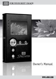 JOBO Spectator GSP040 User Manual