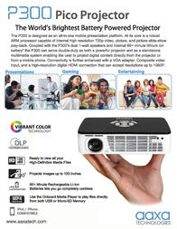 AAXA Technologies M2 Micro MP200-01 Leaflet