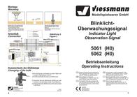 Viessmann 5061A H0 H0 Kit flashing light signal monitoring 5061A Data Sheet