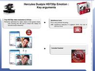 Hercules Dualpix HD720p Emotion 4780655 Leaflet