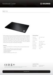Xilence SNC110 COO-XPLP-SNC110.B Leaflet