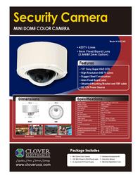 Clover Technologies Group HDC365 Leaflet