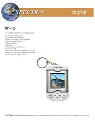 Spectra DPF-105 Leaflet
