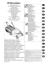 Flymo QUICKSILVER 46S User Manual