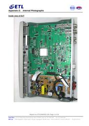 Global Technologies Inc. PANSAT2700A Internal Photos
