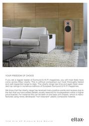 Eltax Speaker System 712 Leaflet