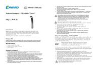 Wera LED outdoor free standing light 3 W Warm white 13802-570 Anthracite 13802-570 Data Sheet