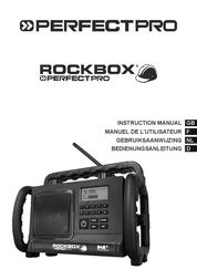 Perfectpro Bathroom Radio, Black RB1 Data Sheet