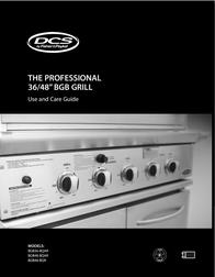 "DCS 36-48"" BGB Grill BGB48-BQAR User Manual"