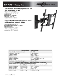 Evermount EM-AMB Leaflet