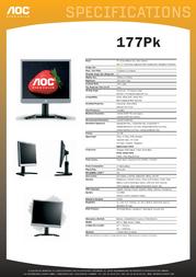 AOC 177Pk 177PK Leaflet
