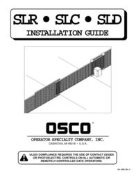Cosco SLR User Manual