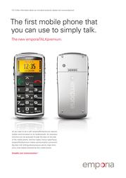 T-Mobile TALKpremium TMOB300520 Leaflet