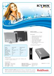 ICY BOX ICY BOX 21401 전단