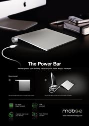 Mobee Technology Power Bar PO3214 Leaflet