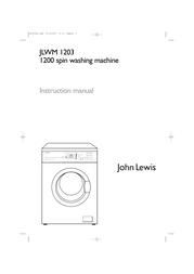 John Lewis JLWM 1203 User Manual