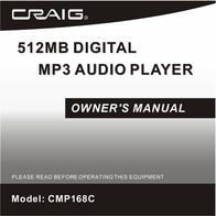 Craig CMP168C User Manual