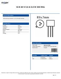 Fixapart 2N2219A-MBR Leaflet