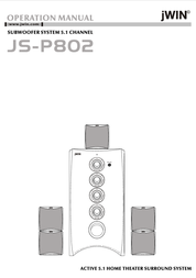 jWIN JS-P802 User Manual