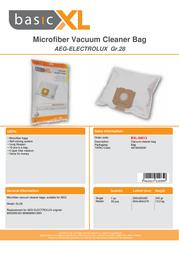 basicXL BXL-50013 Leaflet