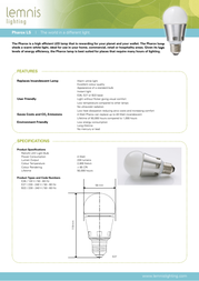 Luxeon E26 Leaflet