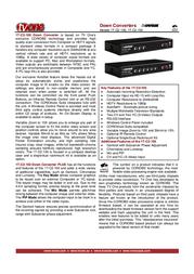 TV One 1T-C2-100 Leaflet