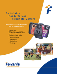 Ferrania Telephoto Camera Leaflet