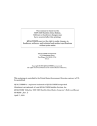 Qualcomm Modem GSP-1620 User Manual
