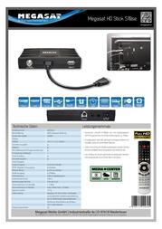 Megasat HD Stick 510se 0201022 Data Sheet
