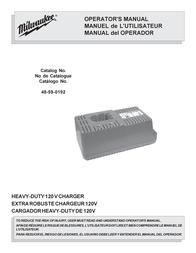 Streamlight StreamLight Battery Charger 48-59-0192 User Manual