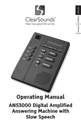 Clearsounds ANS3000 User Manual